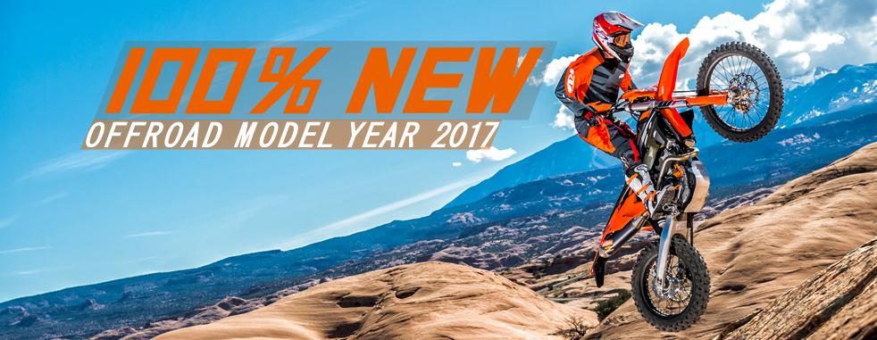 KTM OFFROAD MODEL 2017